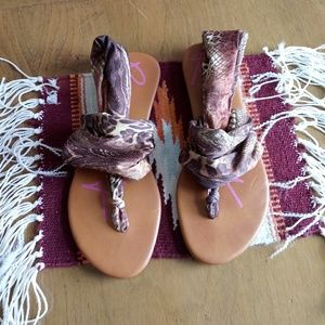 Rock & Candy chillax scarf sandals